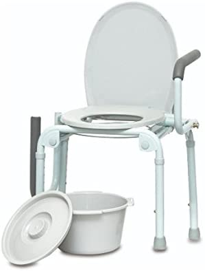 he ProBasics Drop Arm Commode dme medical