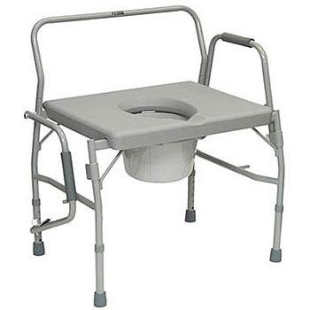 ProBasics Bariatric Drop Arm Commode DME Bedside