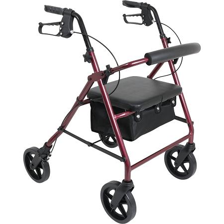 walker - walking cane - ProBasics Deluxe Aluminum Rollator -