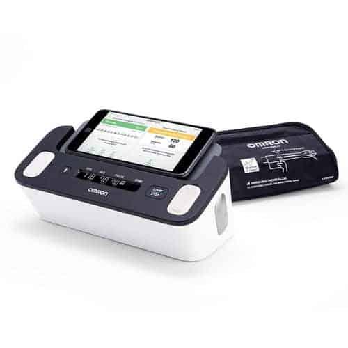 Omron Complete Upper Arm Blood Pressure Plus EKG monitor, Wireless