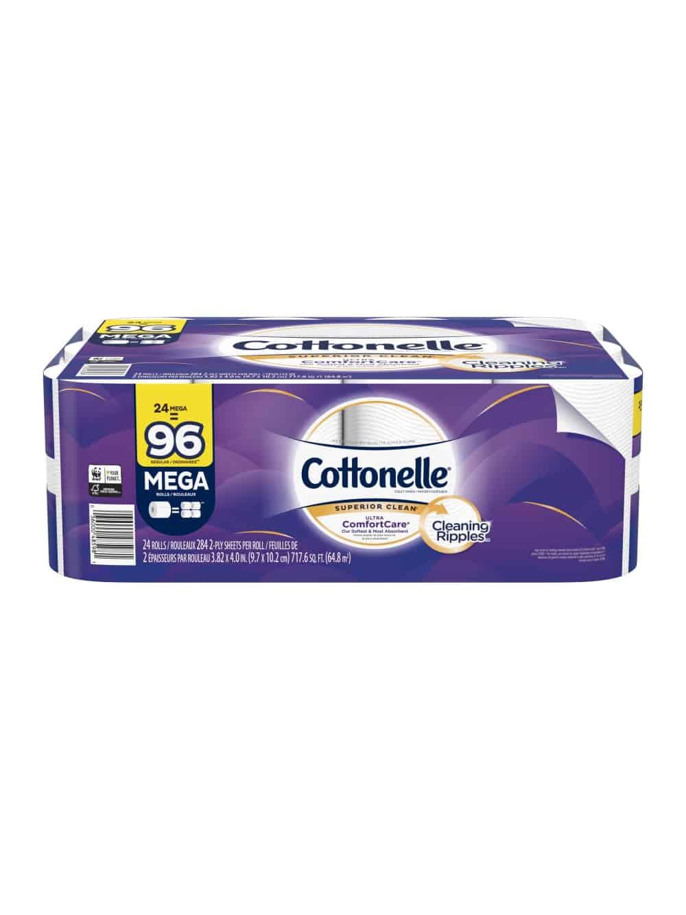 Cottonelle® Ultra ComfortCare® Toilet-Paper (24 Mega Rolls)