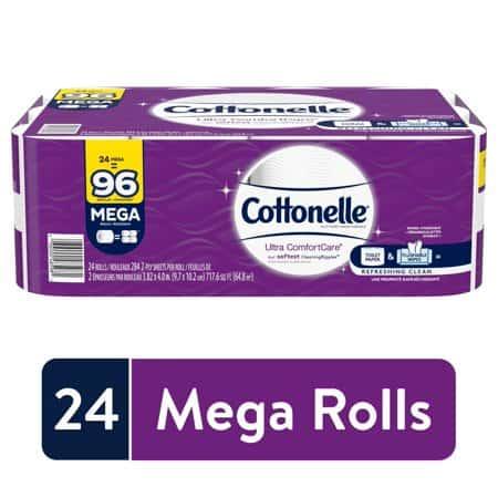 Cottonelle Ultra CleanCare Toilet Paper medical equipment